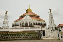 Εκκλησία του ST George ` s Syro Malabar Forane, Edapally, Κεράλα, Ινδία στοκ εικόνες