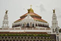 Εκκλησία του ST George ` s Syro Malabar Forane, Edapally, Κεράλα, Ινδία στοκ φωτογραφία