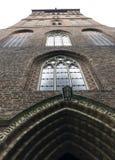 Εκκλησία του ST James ο απόστολος - Τορούν, Πολωνία στοκ εικόνα