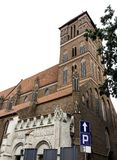 Εκκλησία του ST James ο απόστολος - Τορούν, Πολωνία στοκ εικόνα με δικαίωμα ελεύθερης χρήσης