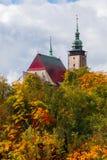 Εκκλησία του ST James ο μεγαλύτερος σε Jihlava, τσεχικά Στοκ Εικόνες