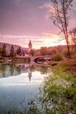 Εκκλησία του ST John ο βαπτιστικός - Bohinj στοκ φωτογραφία με δικαίωμα ελεύθερης χρήσης