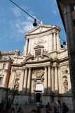 Εκκλησία του ST Marcellus στη Ρώμη στοκ εικόνα