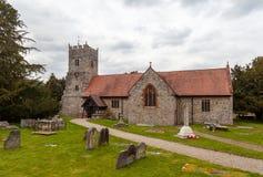 Εκκλησία του ST Mary, Selattyn στοκ εικόνες