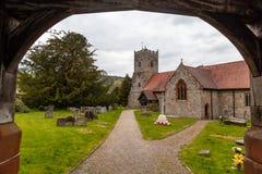 Εκκλησία του ST Mary, Selattyn στοκ φωτογραφία