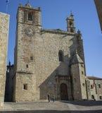 Εκκλησία του ST Matthew ` s, Caceres, Ισπανία στοκ εικόνες
