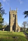 Εκκλησία του ST Peter και του ST Paul, Charlton Horethorne Στοκ εικόνα με δικαίωμα ελεύθερης χρήσης