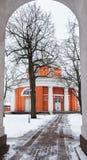 Εκκλησία του ST Peter και του ST Paul, Hamina Στοκ Εικόνα