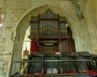 Εκκλησία του ST Peter και του ST Paul ` s - όργανο Στοκ φωτογραφία με δικαίωμα ελεύθερης χρήσης