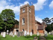 Εκκλησία του ST Peter, πάροδος εκκλησιών, Chalfont ST Peter στοκ εικόνα με δικαίωμα ελεύθερης χρήσης