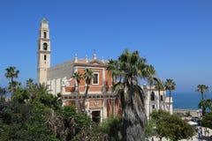 Εκκλησία του ST Peter ` s στην παλαιά πόλη Yaffa, Ισραήλ Στοκ Φωτογραφίες