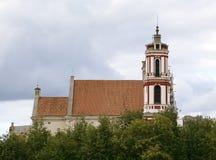 Εκκλησία του ST Philip και του ST James, Vilnius Στοκ Εικόνες