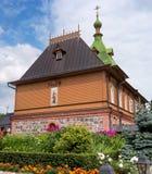 Εκκλησία του ST Simeon και του ST Anna - Refectory- στο έδαφος της μονής Puhtitsa Dormition της ρωσικής Ορθόδοξης Εκκλησίας Στοκ εικόνες με δικαίωμα ελεύθερης χρήσης