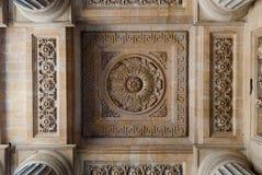 Εκκλησία του ST Sulpice, arcade ανώτατες διακοσμήσεις Στοκ Εικόνες