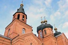 Εκκλησία τούβλινου Στοκ εικόνα με δικαίωμα ελεύθερης χρήσης