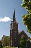 εκκλησία τούβλου Στοκ φωτογραφία με δικαίωμα ελεύθερης χρήσης