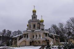 Εκκλησία των Αγίων Boris και Gleb σε Zyuzino Στοκ φωτογραφίες με δικαίωμα ελεύθερης χρήσης