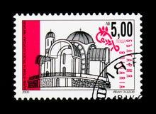 Εκκλησία υπόθεσης, Pamporovo, νέα χριστιανική εκκλησία serie, circa Στοκ φωτογραφία με δικαίωμα ελεύθερης χρήσης