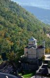 Εκκλησία υψηλών βουνών, μοναστήρι, Ostrog, Μαυροβούνιο στοκ φωτογραφία με δικαίωμα ελεύθερης χρήσης