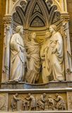 Εκκλησία Φλωρεντία Ιταλία Orsanmichele μουσείων Chiesa τεσσάρων μαρτύρων Στοκ Φωτογραφίες
