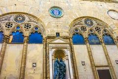 Εκκλησία Φλωρεντία Ιταλία Orsanmichele μουσείων Chiesa Στοκ Εικόνες