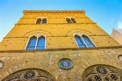 Εκκλησία Φλωρεντία Ιταλία Orsanmichele μουσείων Chiesa Στοκ Φωτογραφίες