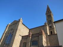 εκκλησία Φλωρεντία Στοκ Φωτογραφία