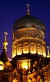 εκκλησία Χάρμπιν ορθόδοξη ρωσική Σόφια ST της Κίνας Στοκ φωτογραφία με δικαίωμα ελεύθερης χρήσης