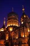 εκκλησία Χάρμπιν ορθόδοξη ρωσική Σόφια ST της Κίνας Στοκ Εικόνες