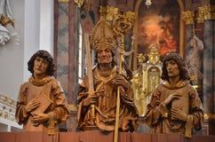 εκκλησία χαρακτήρων Στοκ φωτογραφία με δικαίωμα ελεύθερης χρήσης