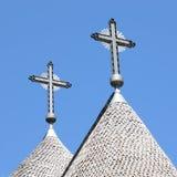 εκκλησία 7 τα κανένα ρουμάν Στοκ φωτογραφία με δικαίωμα ελεύθερης χρήσης