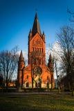 Εκκλησία Annunciation της ευλογημένης Virgin Mary σε Inowroclaw, Πολωνία Στοκ Εικόνες
