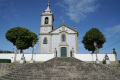 Εκκλησία, Arcos, Πορτογαλία Στοκ φωτογραφία με δικαίωμα ελεύθερης χρήσης