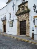 Εκκλησία Arcos de στο Λα Frontera κοντά στο Καντίζ Ισπανία Στοκ Φωτογραφίες