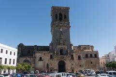 Εκκλησία Arcos de του Λα Frontera, Ανδαλουσία Ισπανία Στοκ φωτογραφία με δικαίωμα ελεύθερης χρήσης