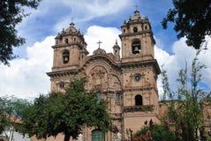 εκκλησία compania cusco de Ιησούς Λα Π&ep Στοκ Εικόνες