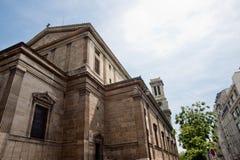 εκκλησία de Παρίσι Paul St Vincent Στοκ Εικόνα