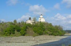 Εκκλησία Ekadia Αγίου George στη Γεωργία Στοκ Φωτογραφίες
