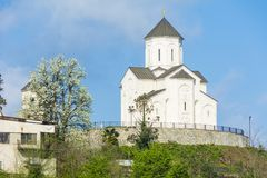 εκκλησία ekadia του ST George στο ozurgeti, Γεωργία Στοκ εικόνες με δικαίωμα ελεύθερης χρήσης
