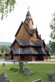 Εκκλησία Heddal Νορβηγία σανίδων στοκ φωτογραφία με δικαίωμα ελεύθερης χρήσης