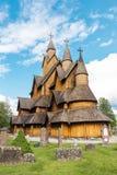 Εκκλησία Heddal Νορβηγία σανίδων στοκ φωτογραφίες