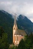 εκκλησία heiligenblut Στοκ εικόνα με δικαίωμα ελεύθερης χρήσης