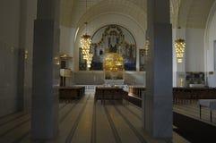 Εκκλησία Jugendstil Στοκ εικόνες με δικαίωμα ελεύθερης χρήσης