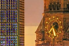 εκκλησία kaiser ο αναμνηστικός Wilhelm Στοκ Εικόνες
