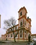 Εκκλησία Litomerice Annunciation της Virgin Mary Στοκ εικόνα με δικαίωμα ελεύθερης χρήσης