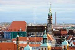 εκκλησία Lorenz ST Στοκ φωτογραφία με δικαίωμα ελεύθερης χρήσης