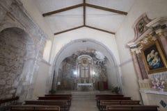 Εκκλησία Madonna delle Grotte σε Antrodoco Rieti, Ιταλία Στοκ Εικόνες