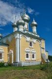 Εκκλησία Matigory της αναζοωγόνησης του δέκατου όγδοου αιώνα Χριστού Στοκ Εικόνες