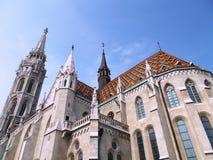 εκκλησία Matthias της Βουδαπέσ στοκ φωτογραφίες