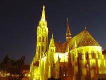 εκκλησία Matthias Στοκ Εικόνες